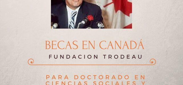 Becas en Canadá para Doctorados