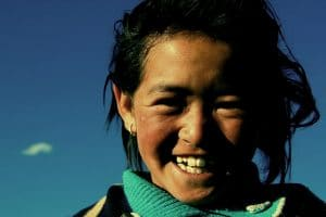 Mujer, sonrisa, Fotografía