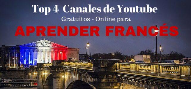 Top 4 de los mejores canales de Youtube para aprender Francés gratuitamente