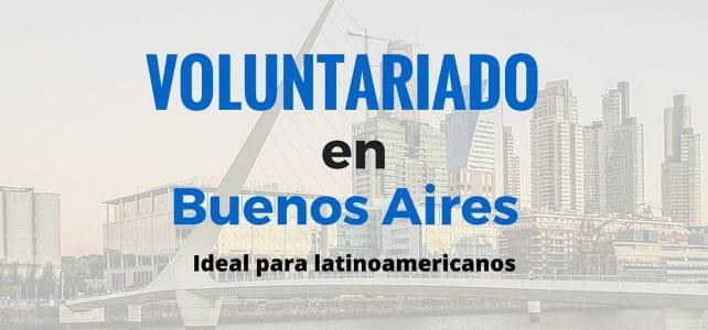 Oportunidad de voluntariado en Argentina.