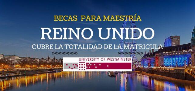 Becas para maestría en el Reino Unido –  Londres