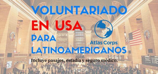 Voluntariado en USA para latinoamericanos – Cubren tus pasajes y todos los gastos!