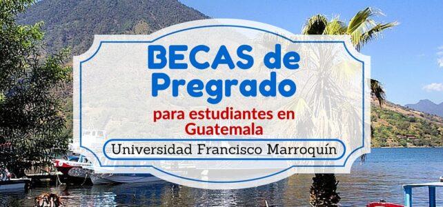 Becas de pregrado para estudiantes de Guatemala