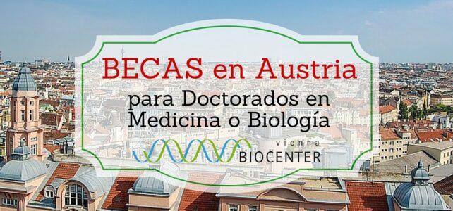 Becas de Doctorado en Austria