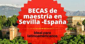 Becas de Maestría en Sevilla en España