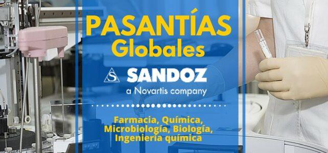 Pasantías globales con Sandoz Novartis
