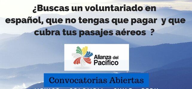 Voluntariados en América Latina en Español – Tiquetes, seguro médico y manutención incluidos