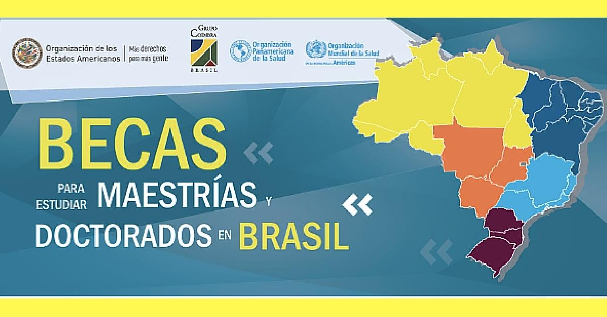 500 Becas para estudiar Maestrías o Doctorados en Brasil - Más Oportunidades