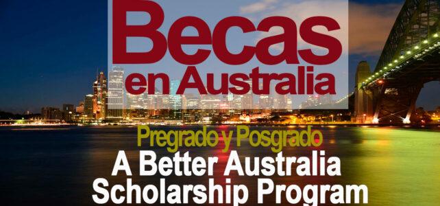 Becas para estudios de Pregrado y posgrado en Australia