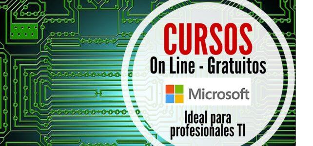 Cursos online y gratuitos de Microsoft