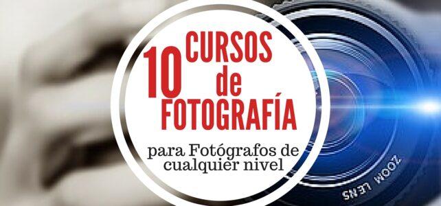 10 videocursos gratuitos para fotógrafos de cualquier nivel – En español & Gratuitos