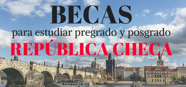 Becas para estudiar pregrado y posgrado en  República Checa