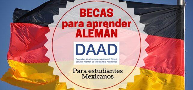 Becas para viajar y aprender alemán. Para estudiantes mexicanos de América Latina