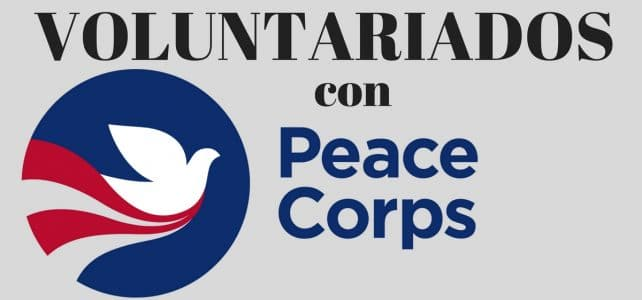 VOLUNTARIADOS CON PEACE CORPS