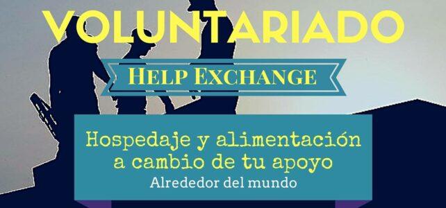 Voluntariado Help Exchange alrededor del mundo !