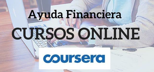 AYUDA FINANCIERA COURSERA