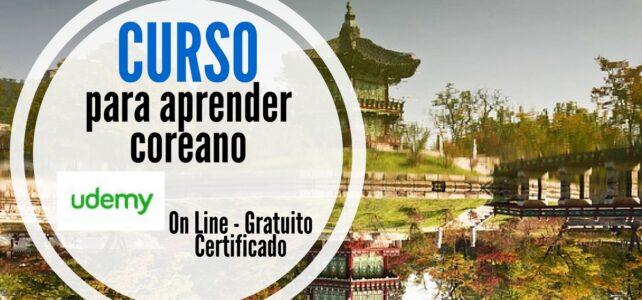 Curso online, gratuito y certificado para aprender coreano !