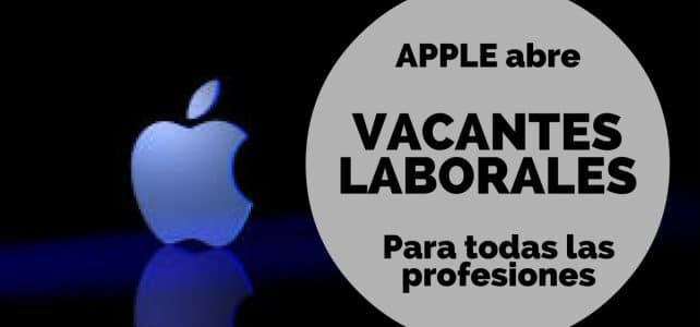 Vacantes laborales con Apple