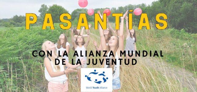Programa de Prácticas con la Alianza Mundial de la Juventud