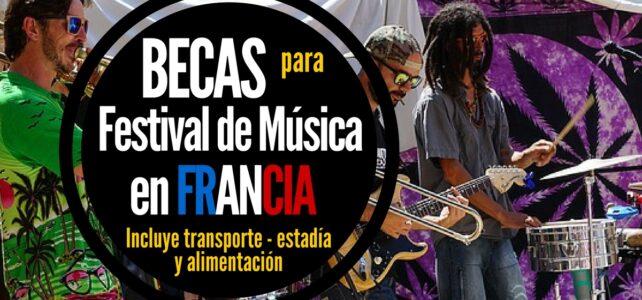 Convocatoria para participar en Festival de música en Francia
