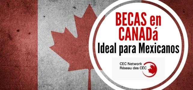 Becas para estudiar en Canadá