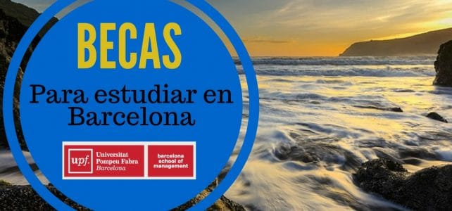 Becas para estudiar en Barcelona (España)