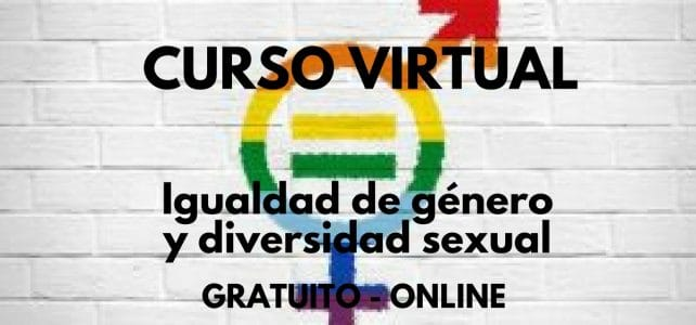 """Curso """"igualdad de género y diversidad sexual"""""""