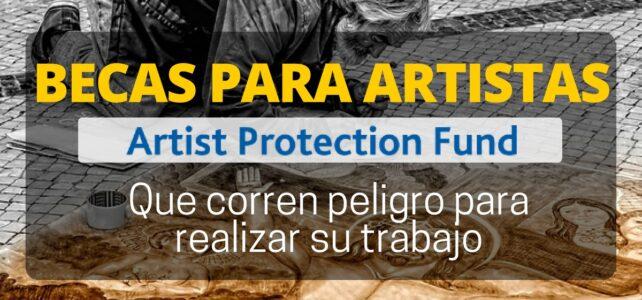 Becas para artistas amenazados