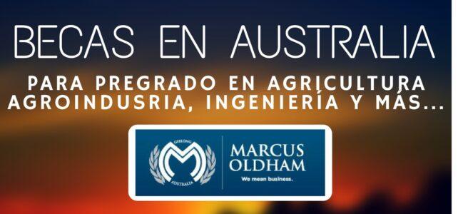Becas de pregrado en Australia para temas de Agro