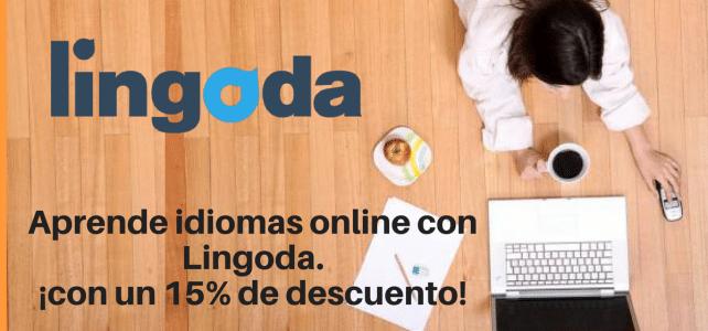 Aprende idiomas online con Lingoda, ¡con un 15% de descuento!