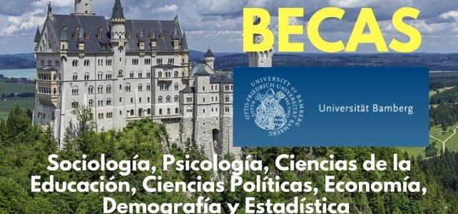 Becas en Sociología, Psicología, Ciencias de la Educación, Ciencias Políticas, Economía, Demografía y Estadística – Alemania