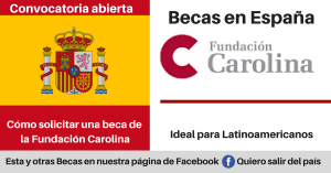 Becas Fundacion Carolina