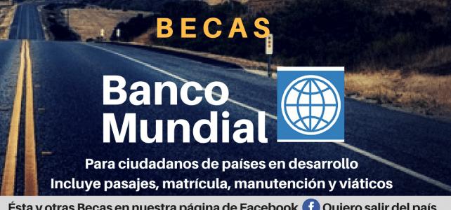 Becas banco mundial