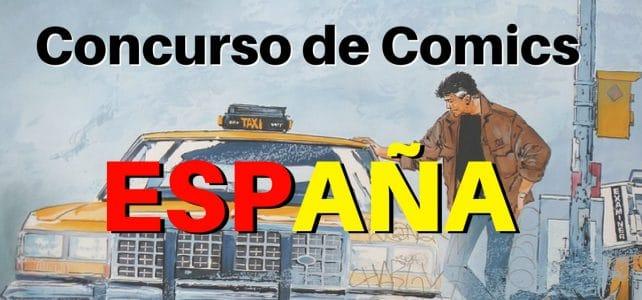 Concurso de Comics para autores de todas las nacionalidades – España.
