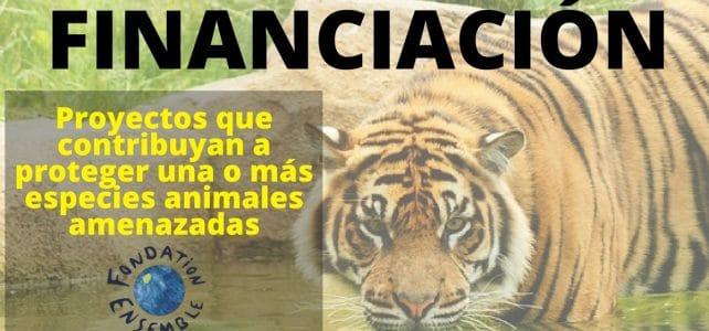 Subvenciones para proyectos que contribuyan a proteger una o más especies animales amenazadas