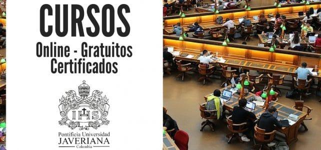 Cursos gratuitos y online impartido por la Universidad Javeriana de Colombia