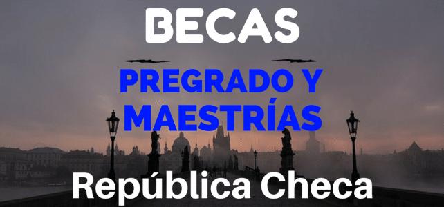 Becas para pregrado o maestría en República Checa