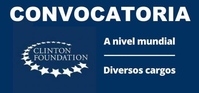 Convocatoria internacional con la Fundación Clinton