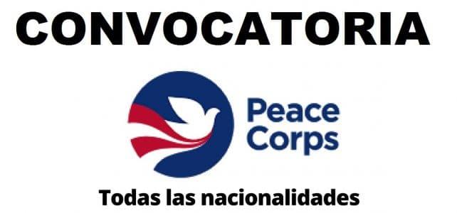 Cuerpo de Paz – Peace Corp abre convocatorias pasantías y voluntariados