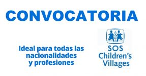 Convocatoria internacional con SOS Children Villages International