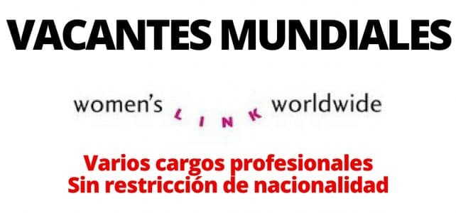 Convocatorias abiertas con Women's Link Worldwide