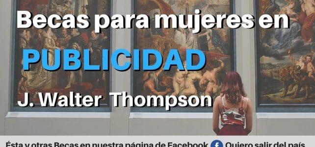 BECAS PARA MUJERES EN PUBLICIDAD J. WALTER THOMPSON