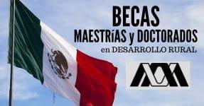 Becas en México para maestría y doctorado en desarrollo rural