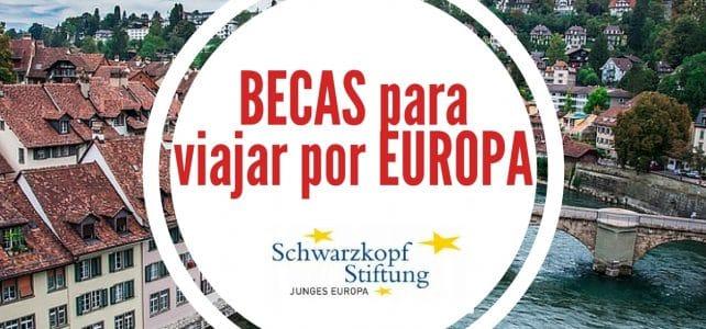 Becas para viajar por Europa