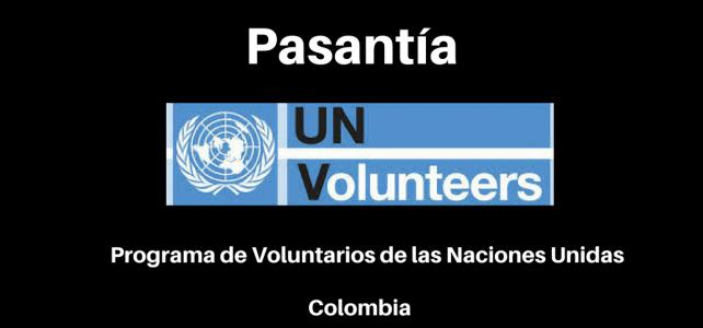 Pasantía con el programa de voluntarios de Naciones Unidas