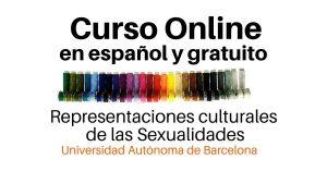 CURSO ONLINE REPRESENTACIONES CULTURALES DE LAS SEXUALIDADES