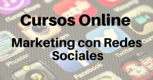 CURSOS ONLINE MARKETING CON REDES SOCIALES