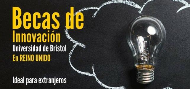 Becas de innovación en Reino Unido. Ideal para estudiantes extranjeros
