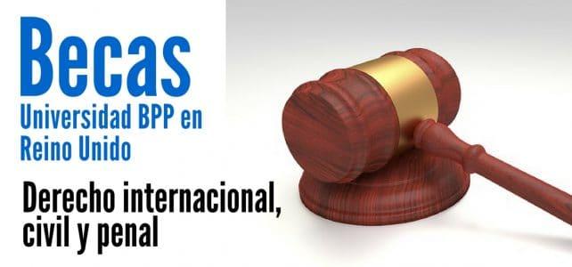 Becas de Derecho – Universidad de BPP en Reino Unido