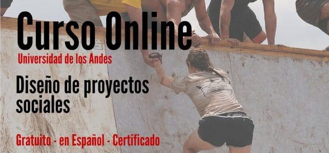 Curso online y gratuito sobre diseño de proyectos de sociales